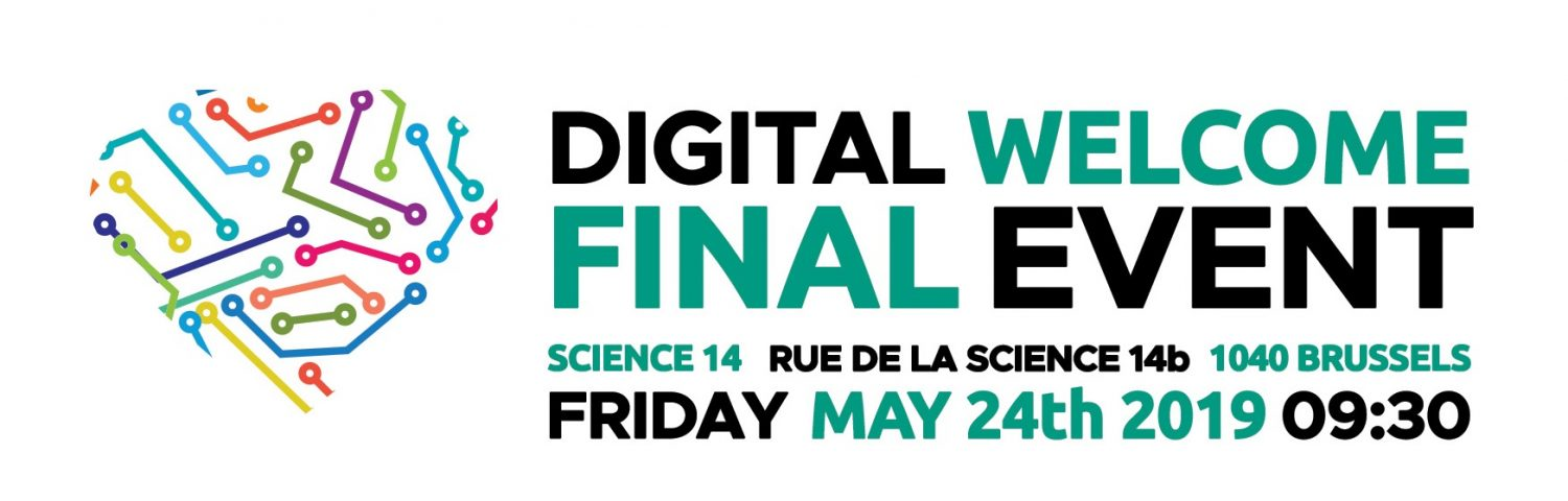 Digital Welcome final event on 24 May 2019!
