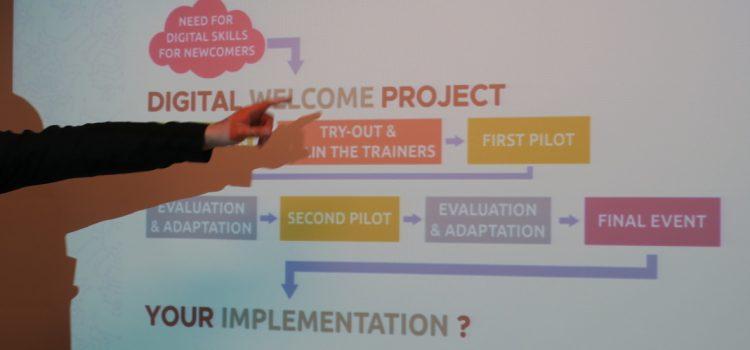 Digital Welcome Final Event: digital skills foster integration